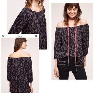 Anthropologie Caitha Off The Shoulder sz small